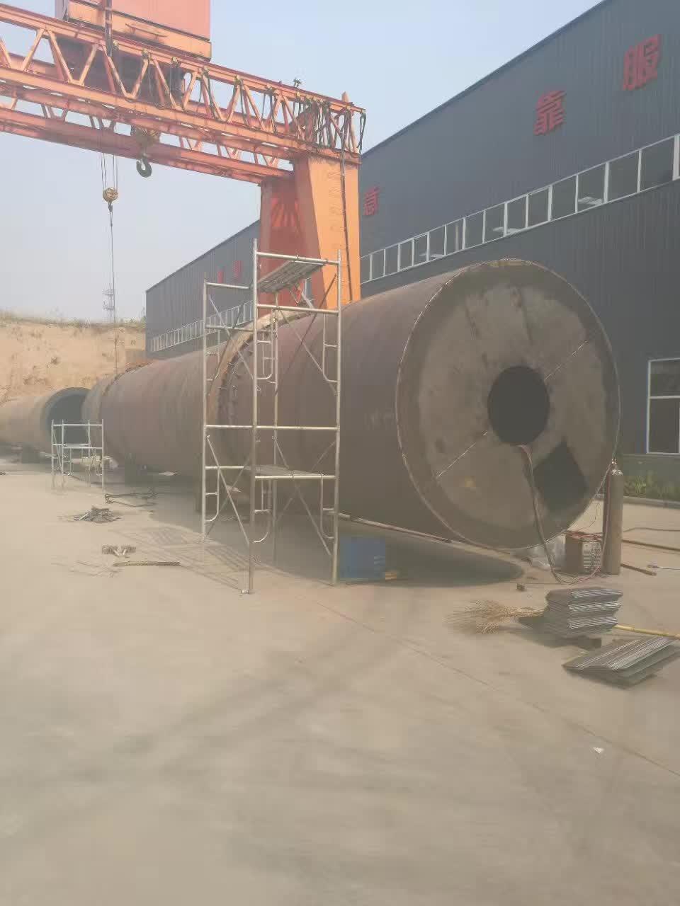 3mx22m大型烘干制作中