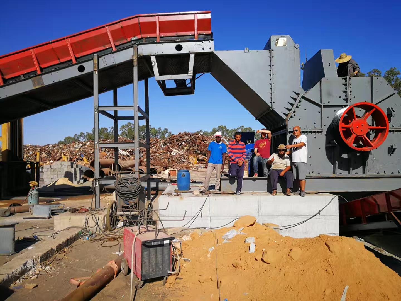 河南ballbet贝博官网下载砂石生产线设备在非洲