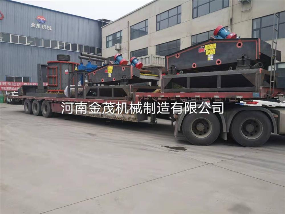 立轴制砂机整套生产线